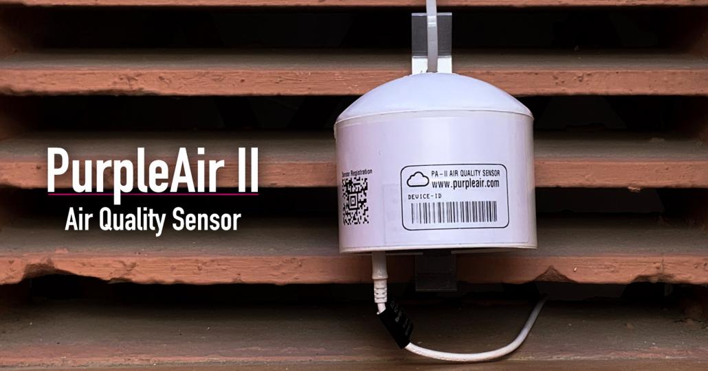 Senzorii PurpleAir PA-II